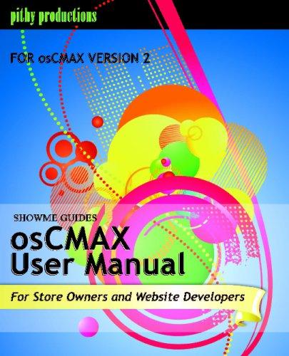 ShowMe Guides osCMAX User Manual