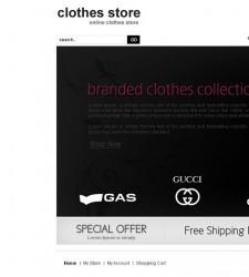 VTM010022 – Clothes Store