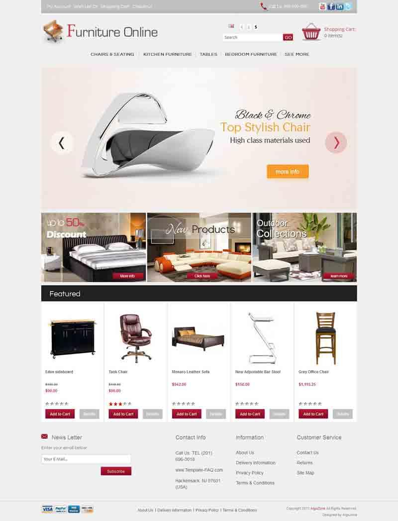 OC01A00579 – Furniture Store