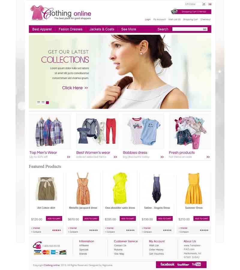 OC01A00583 – Clothes Store