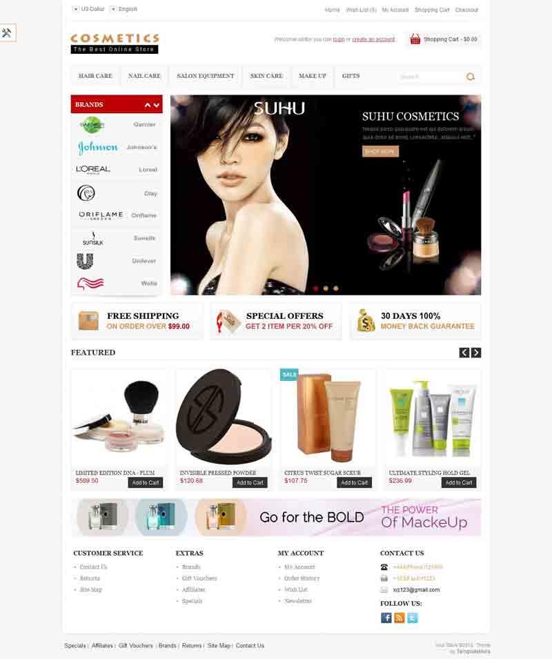 OPC060132 – Beauty Store