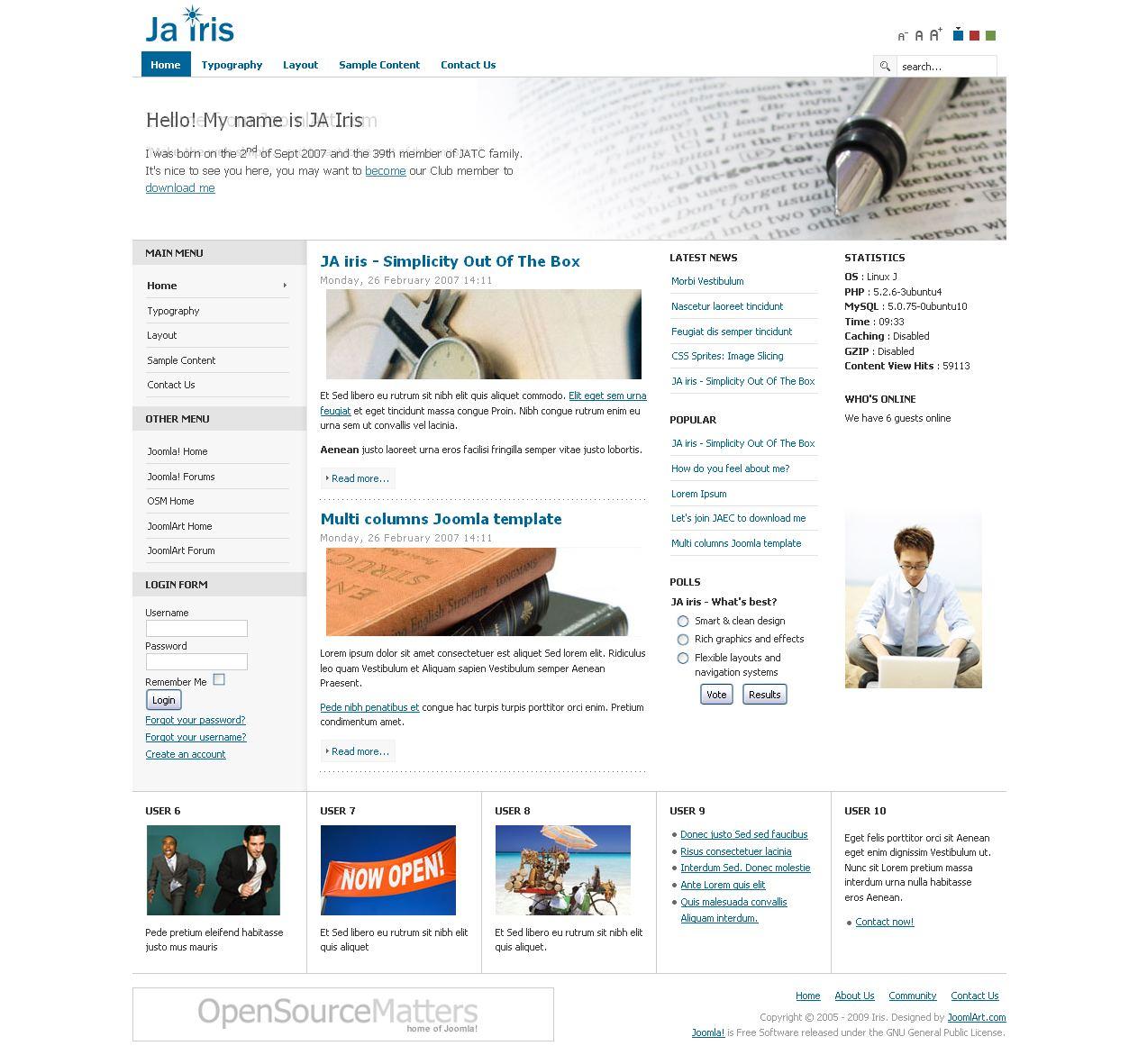 Joomla template pack rapidshare the best free software for Free joomla template creator software