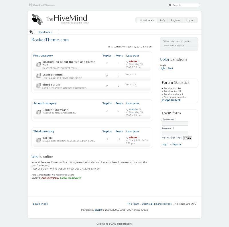 HiveMind phpBB Style