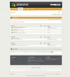 Populus phpBB Style