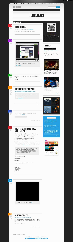 Tumbl News – Premium Tumblr Theme