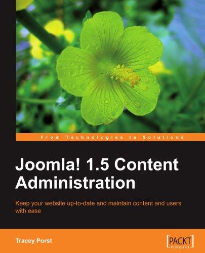 Joomla! 1.5 Content Administration