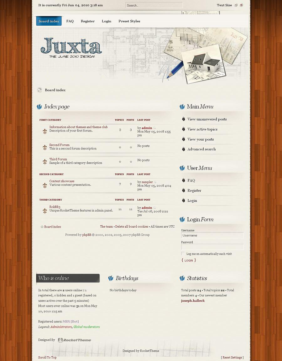 Juxta phpBB Style