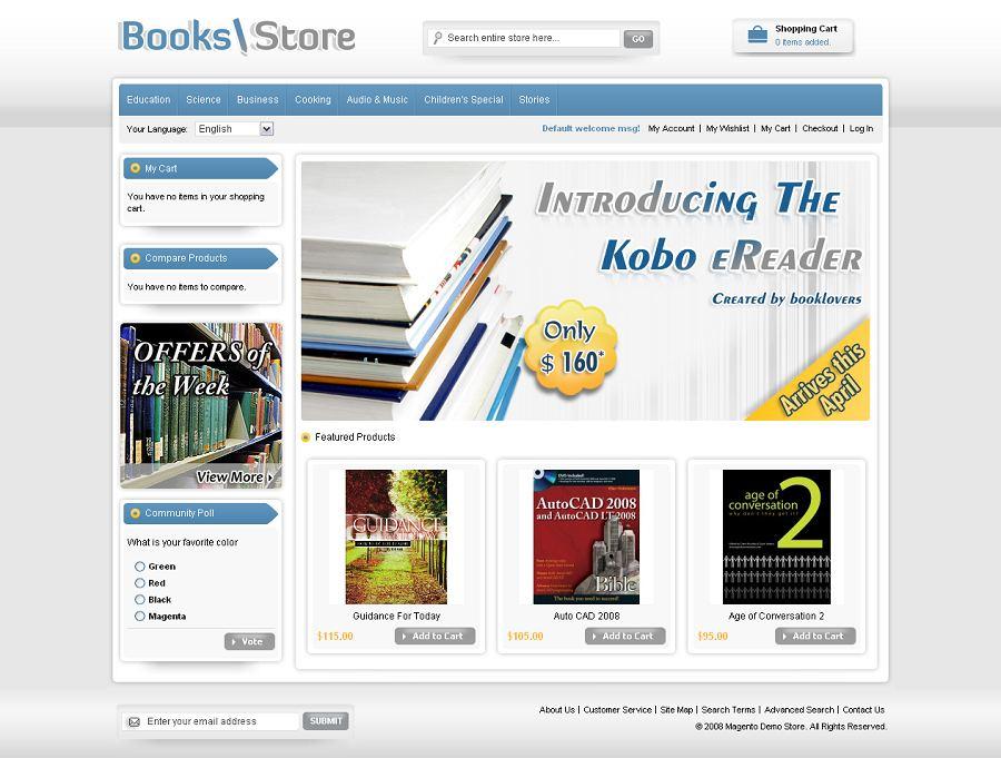 MAG070099 – Book Store