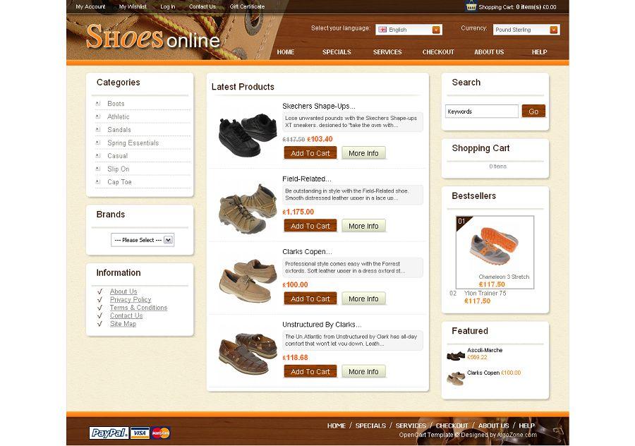 OC04A00450 – Shoe Store