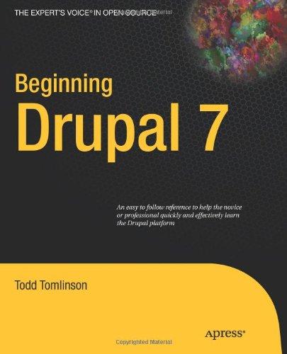 Beginning Drupal 7
