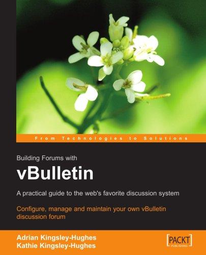 vBulletin Discussion Forum User Guide
