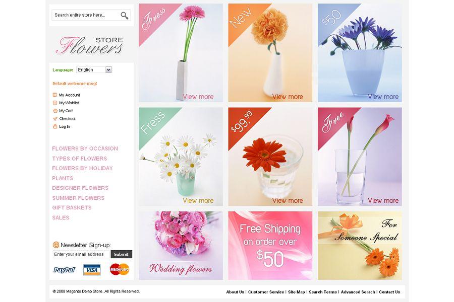 MAG070106 – Flower Store