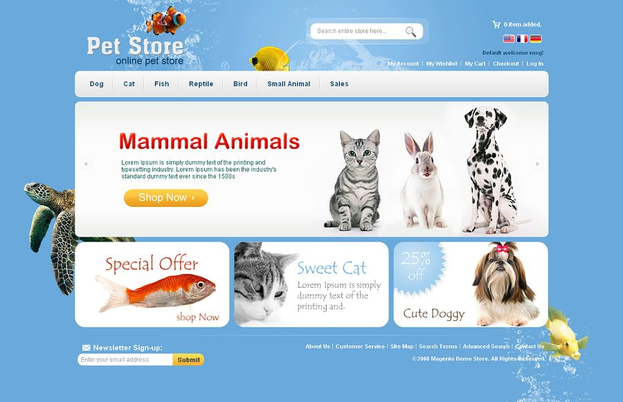 MAG070108 – Pet Store