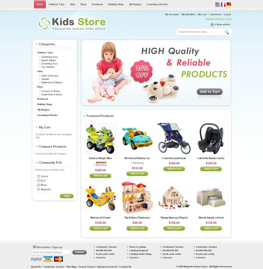 MAG070111 – Kids Store