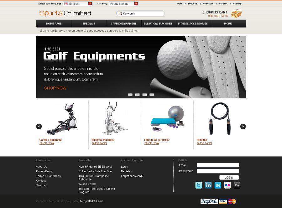 OC04A00454 – Golf Store