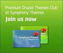Symphony Drupal Themes Club