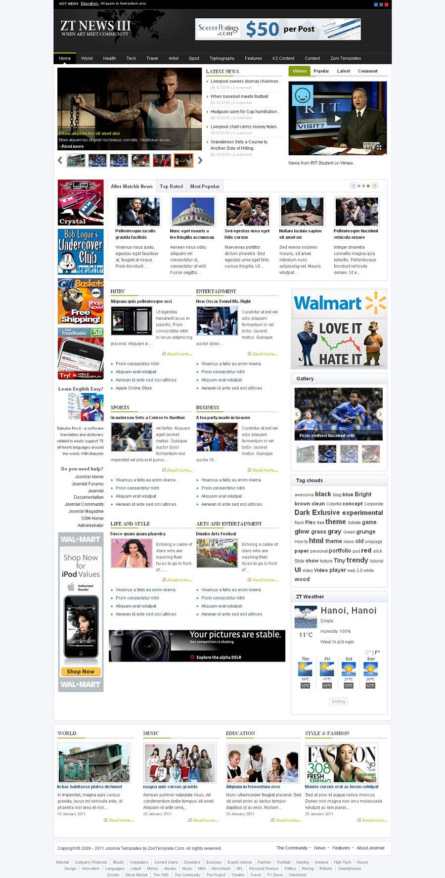 Best news joomla templates joomlart   joomla templates and.