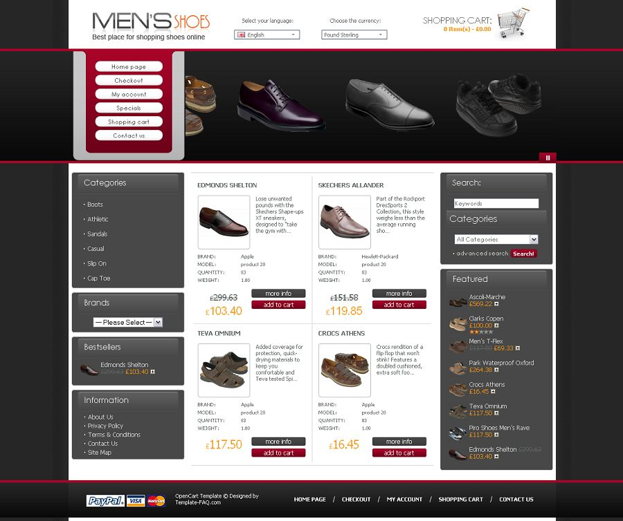 OC04A00460 – Shoe Store