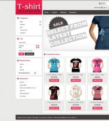PRS010009 – T-shirt Store