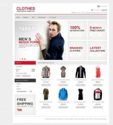 PRS010012 – Clothes Store