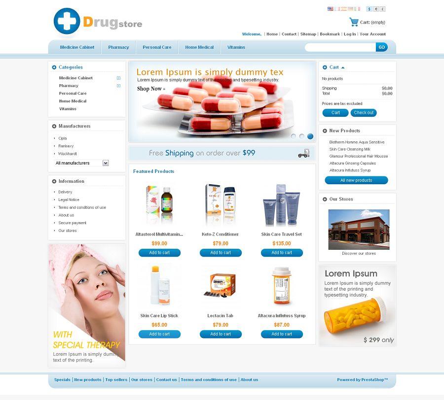 PRS010014 – Drug Store