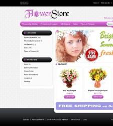 OPC010018 – Flower Store