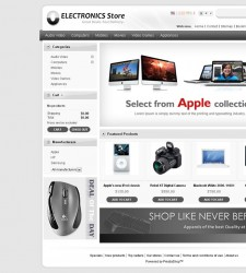 PRS010023 – Electronics Shop
