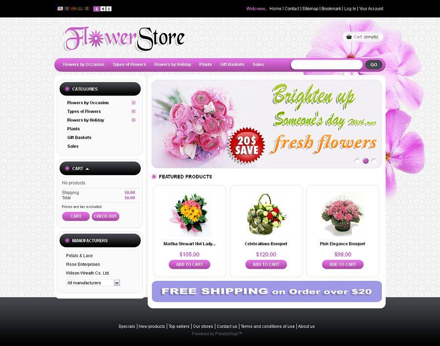 PRS010025 – Flower Store