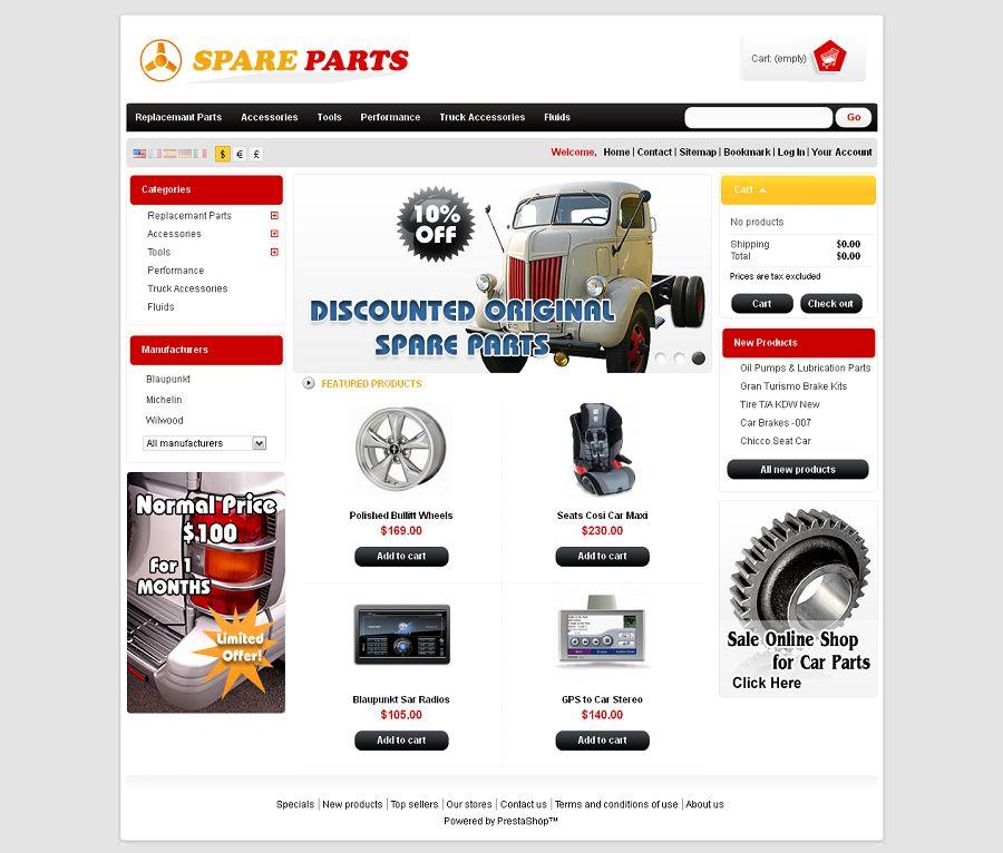 PRS020026 – SpareParts Store
