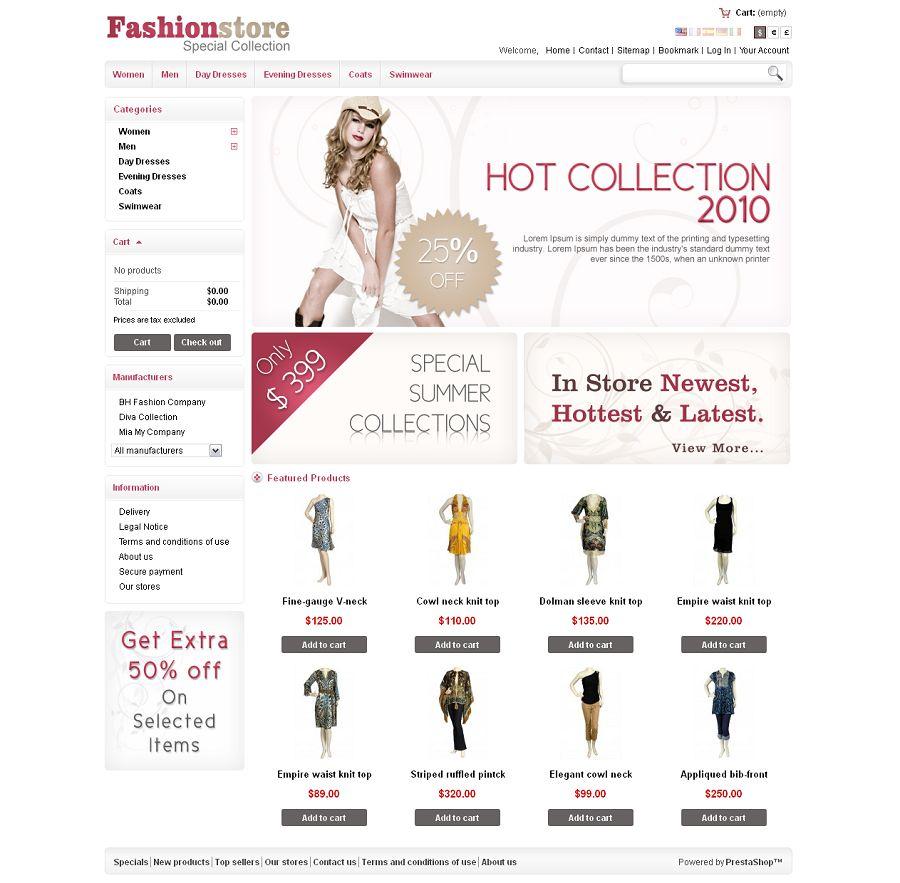 PRS020029 – Fashion Store
