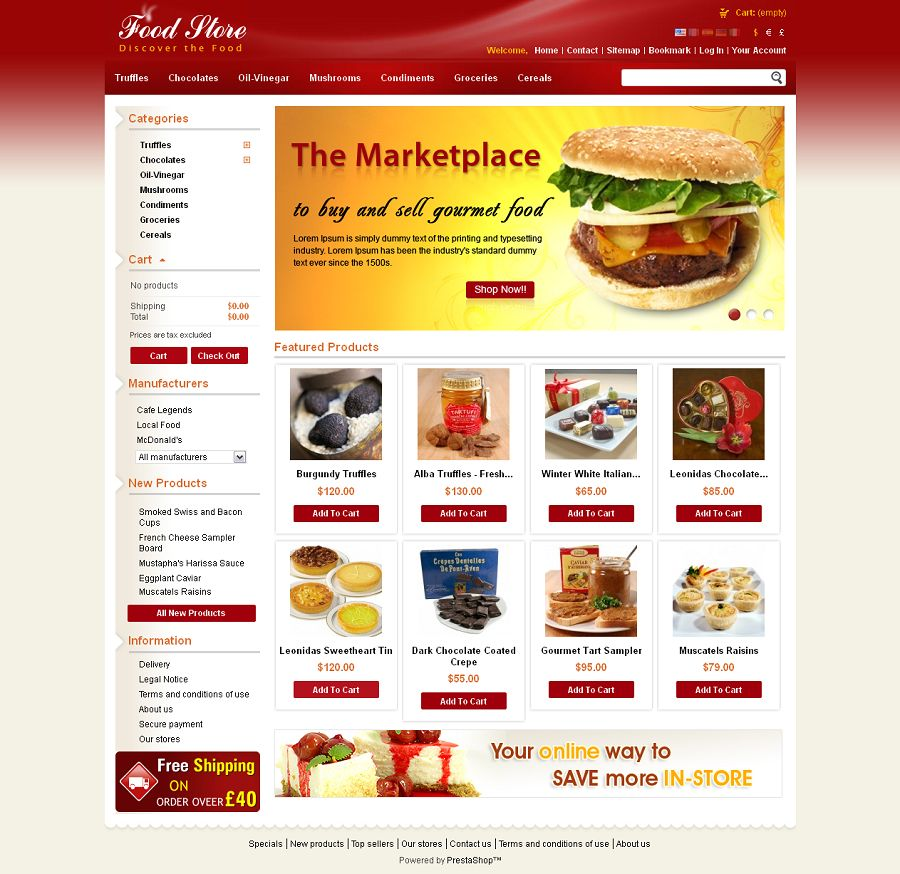 PRS020033 – Food Store