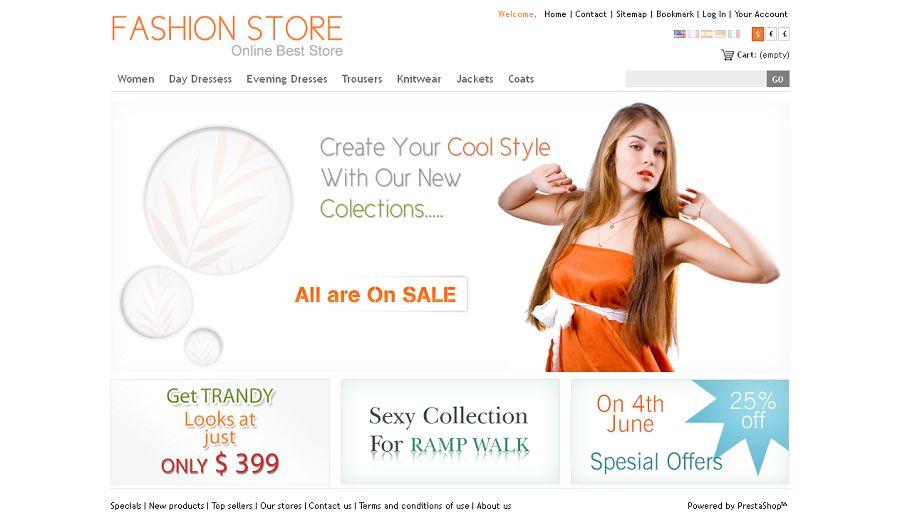 PRS020035 – Fashion Store