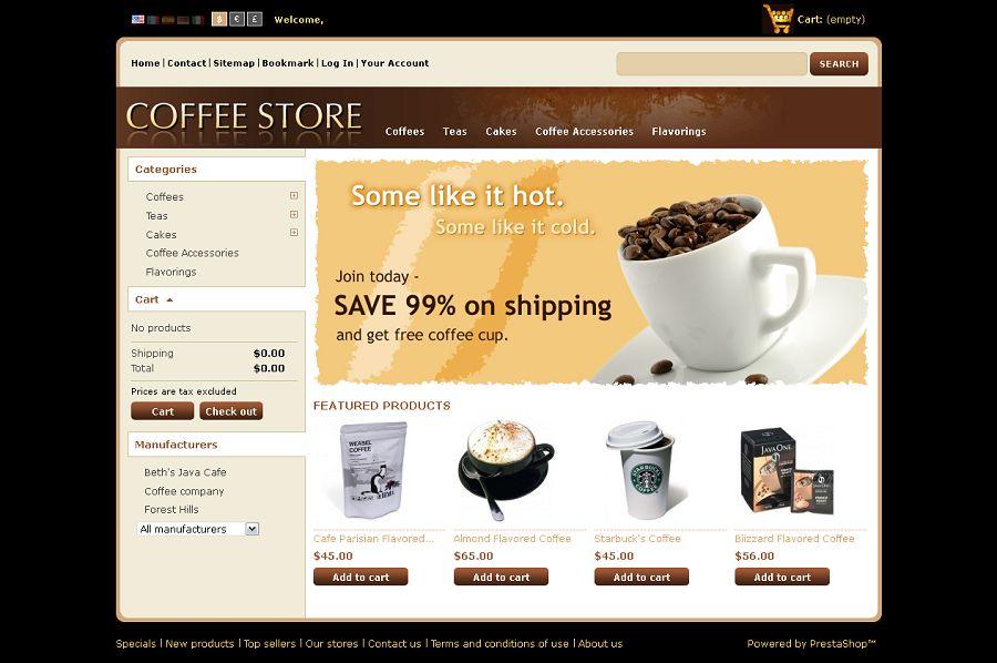 PRS020040 – Coffee Store