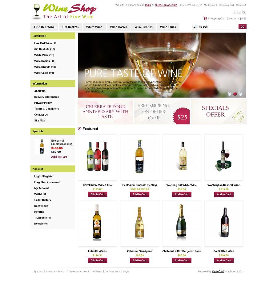 OPC020026 – Wine Store
