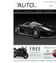 OPC020033 – Auto Parts Store