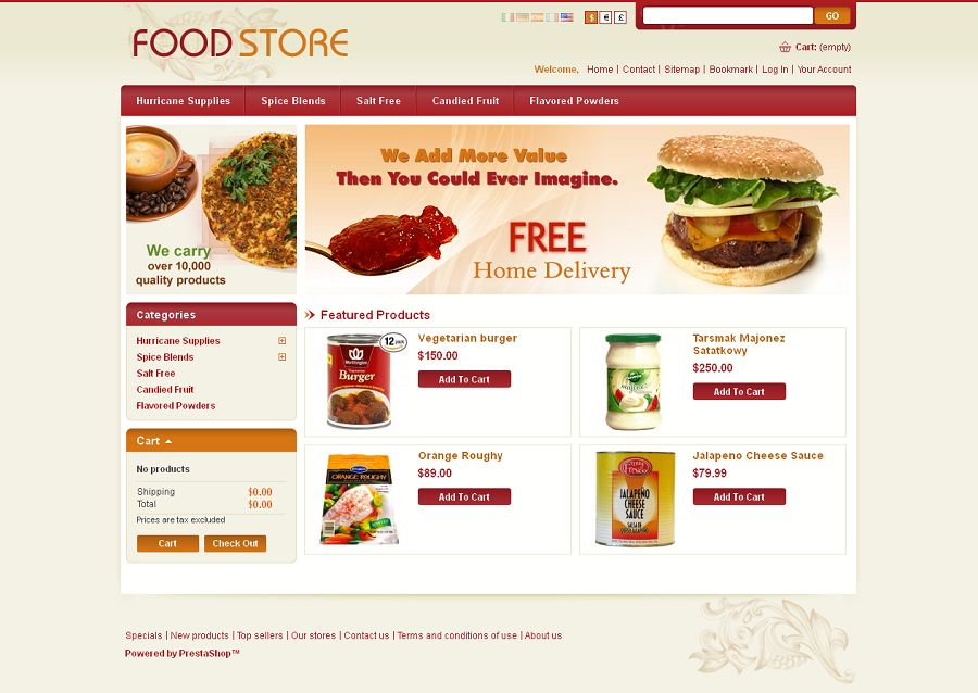 PRS030058 – Food Store