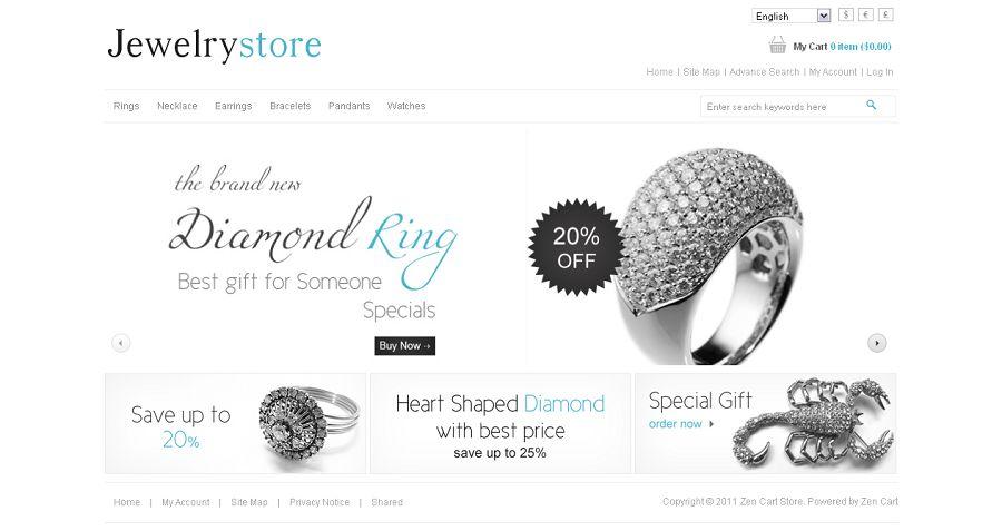 ZEN010002 – Jewelry Store