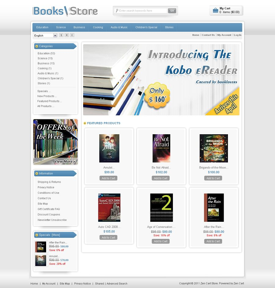 ZEN010003 – Book Store