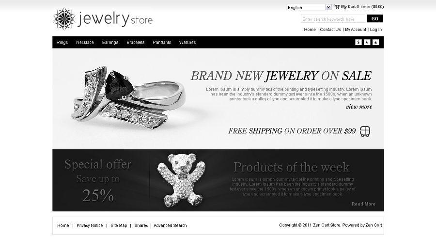 ZEN010007 – Jewelry Store