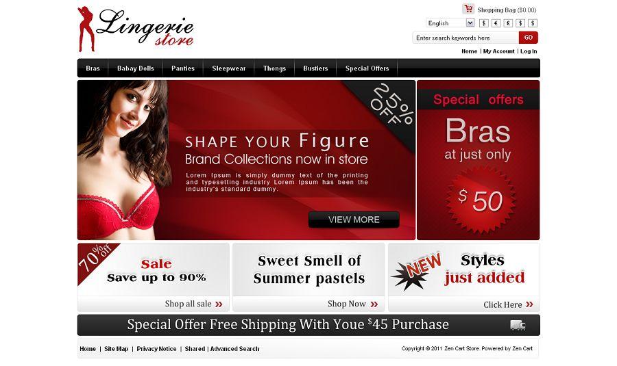 ZEN010015 – Lingerie Store