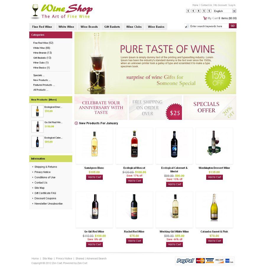 ZEN010019 – Wine Shop