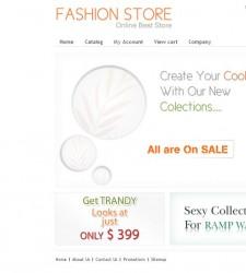 CST010007 – Fashion Store