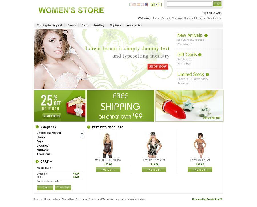 PRS030059 – Women's Store