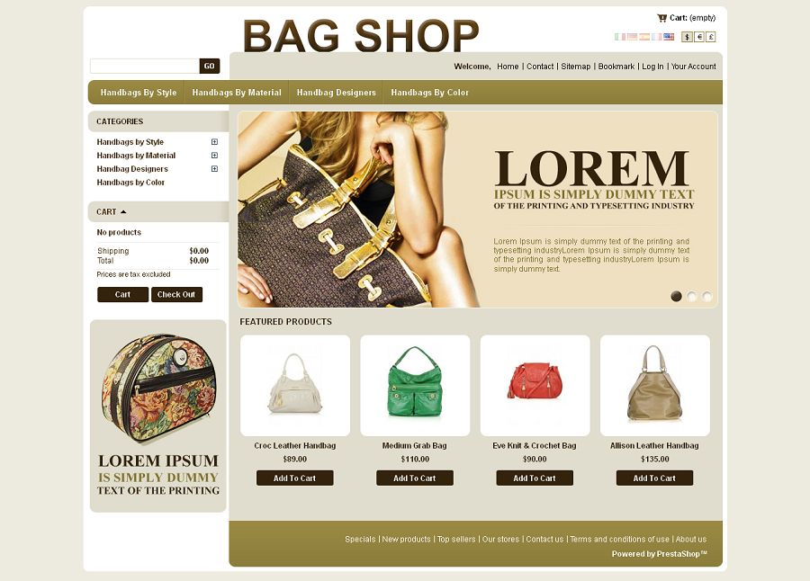 PRS030060 – Fashion Bag Store