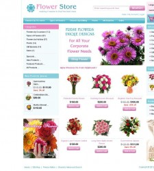 ZEN020028 – Flowers Store
