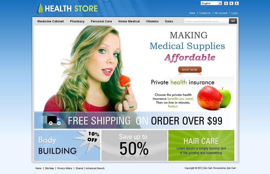 ZEN020029 – Health Store