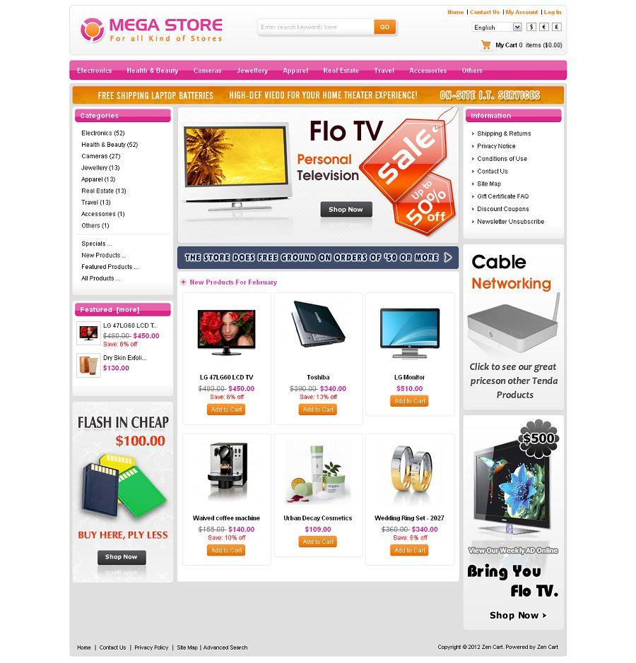 ZEN020034 – Mega Store