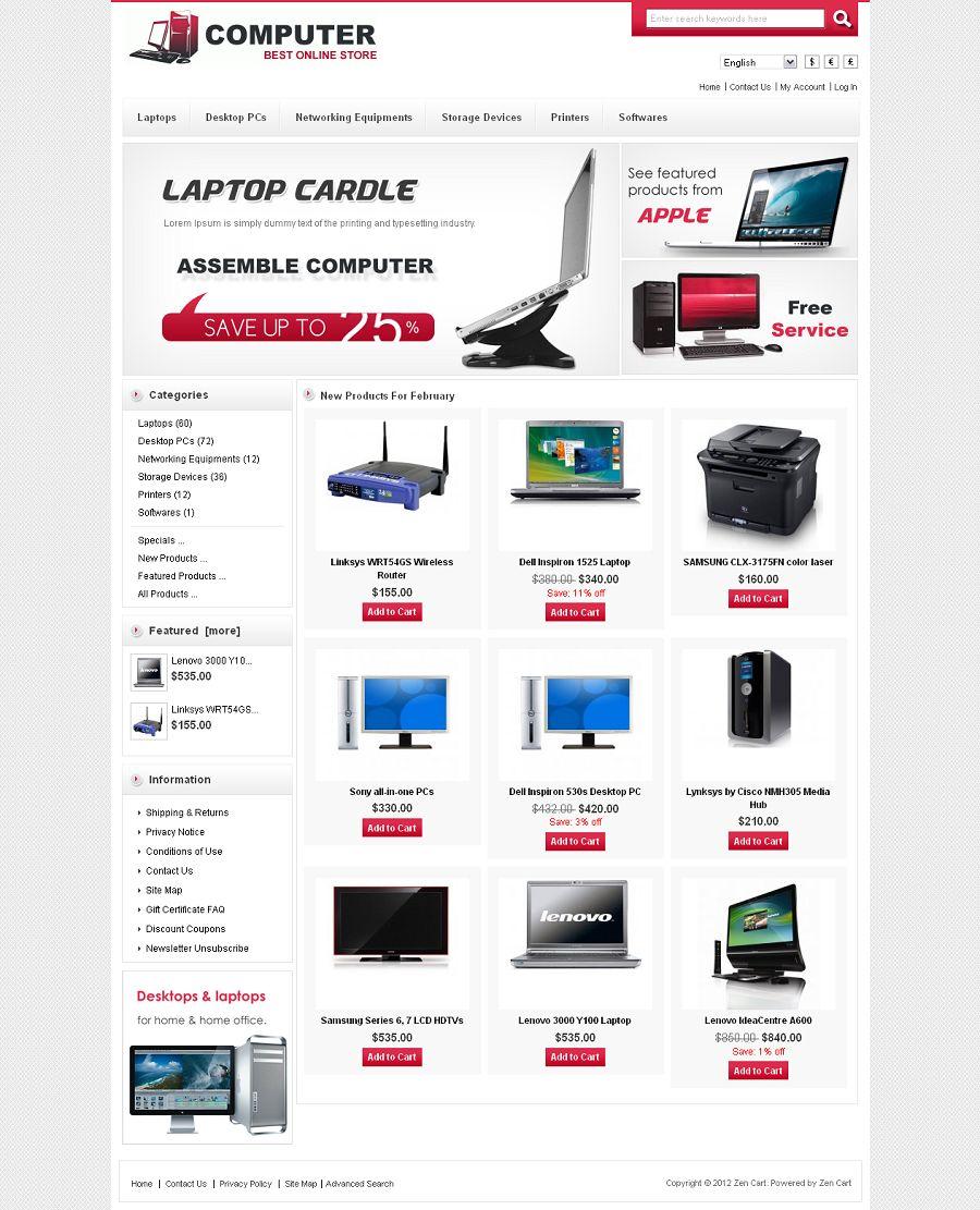 ZEN020035 – Computer Store