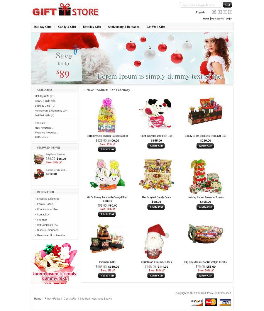 ZEN020037 – Gift Shop