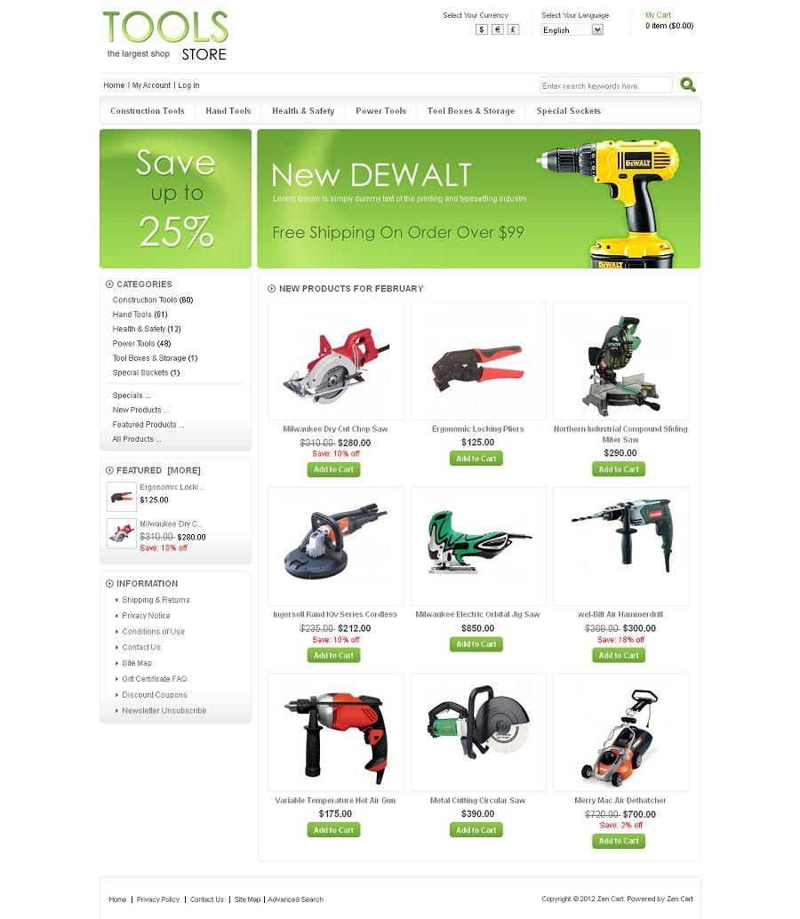 ZEN020038 – Tools Store